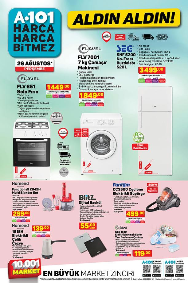 A101 26 Ağustos 2021 Aktüel Kataloğu - SEG No-Frost Buzdolabı
