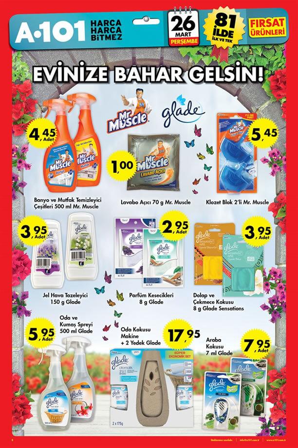 A101 26 Mart 2015 Aktüel Ürünler Kataloğu - Bahar