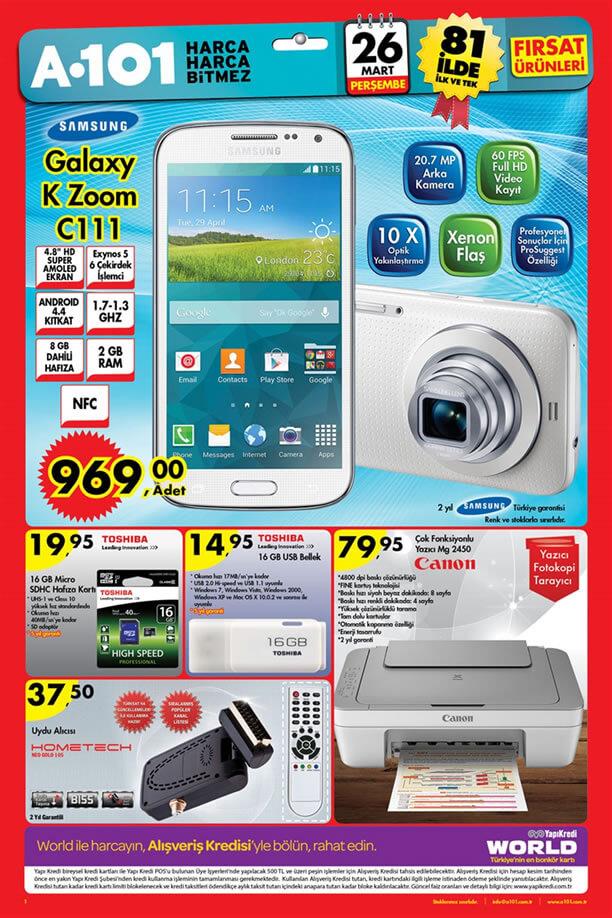 A101 26 Mart 2015 Aktüel Ürünler Kataloğu - Teknoloji