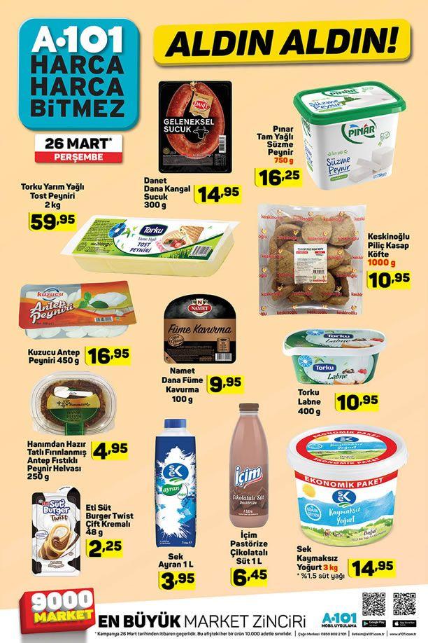 A101 26 Mart 2020 Fırsat Ürünleri Kataloğu