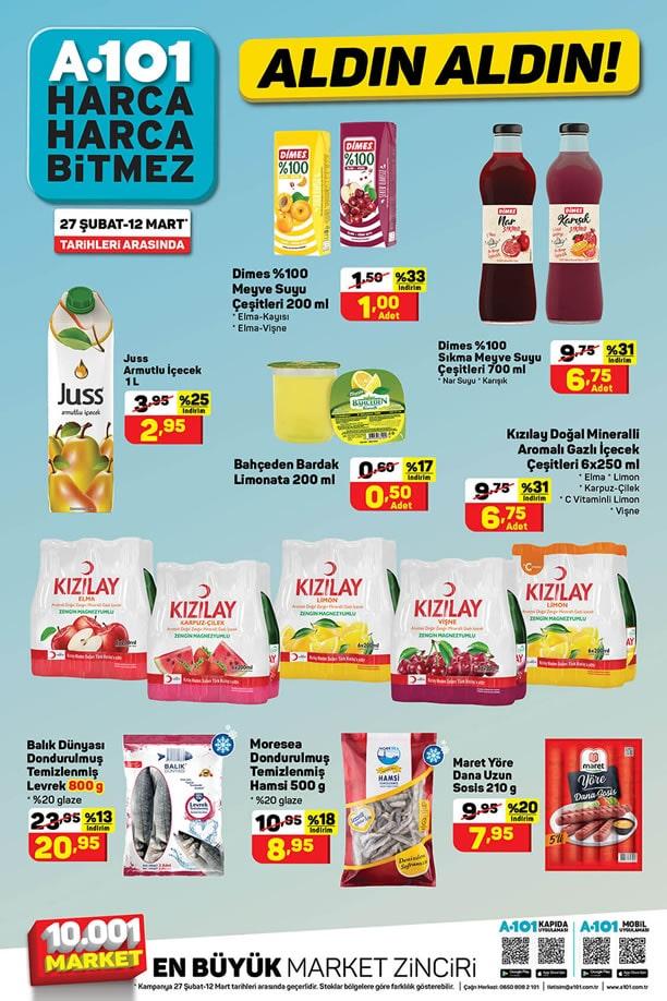 A101 27 Şubat - 12 Mart 2021 İndirimli Ürünler Broşürü
