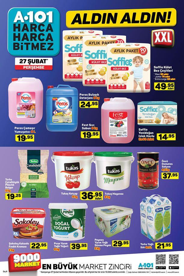 A101 27 Şubat 2020 Fırsat Ürünleri Kataloğu