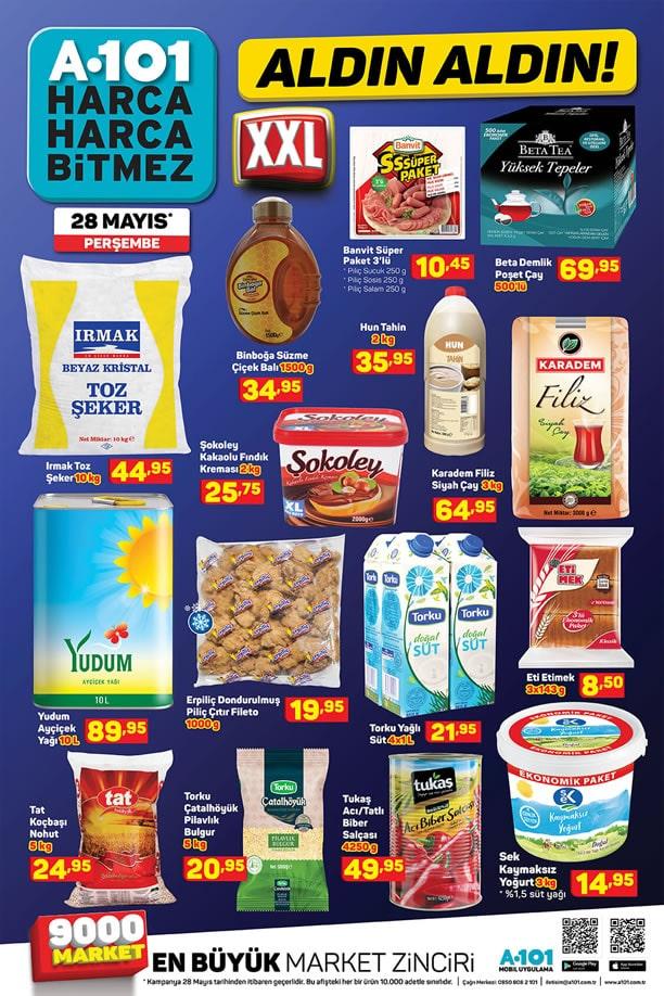 A101 28 Mayıs 2020 Fırsat Ürünleri Broşürü
