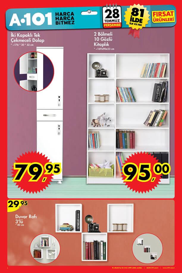 A101 28 Temmuz - 3 Ağustos Katalogu - Kitaplık