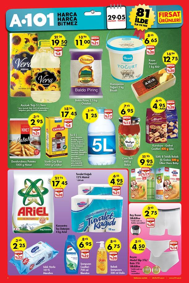 A101 29 Haziran - 5 Temmuz 2015 Aktüel Ürünler Katalogu
