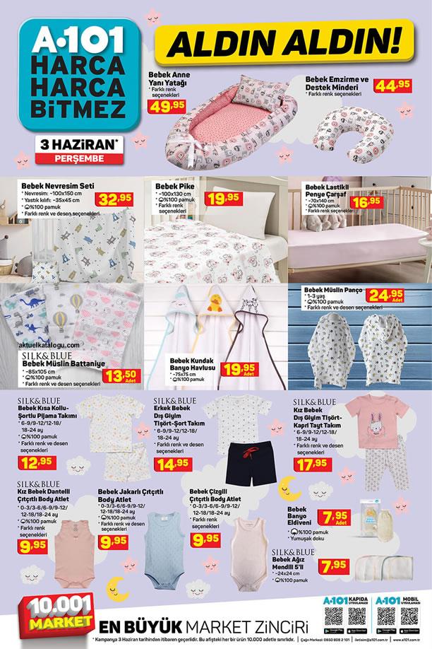 A101 3 Haziran 2021 Aldın Aldın Fırsatları - Bebek Ürünleri