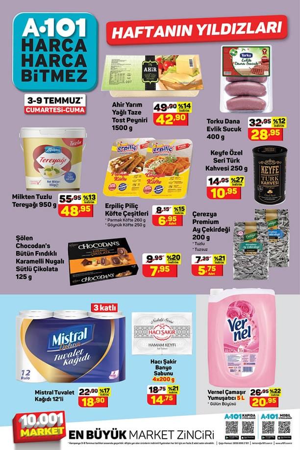 A101 3 Temmuz 2021 Aktüel Ürünler Kataloğu