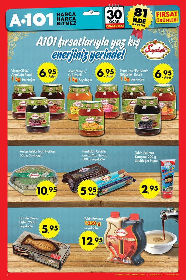 A101 30 Ocak 2016 Aktüel Ürünler Katalogu - Seyidoğlu
