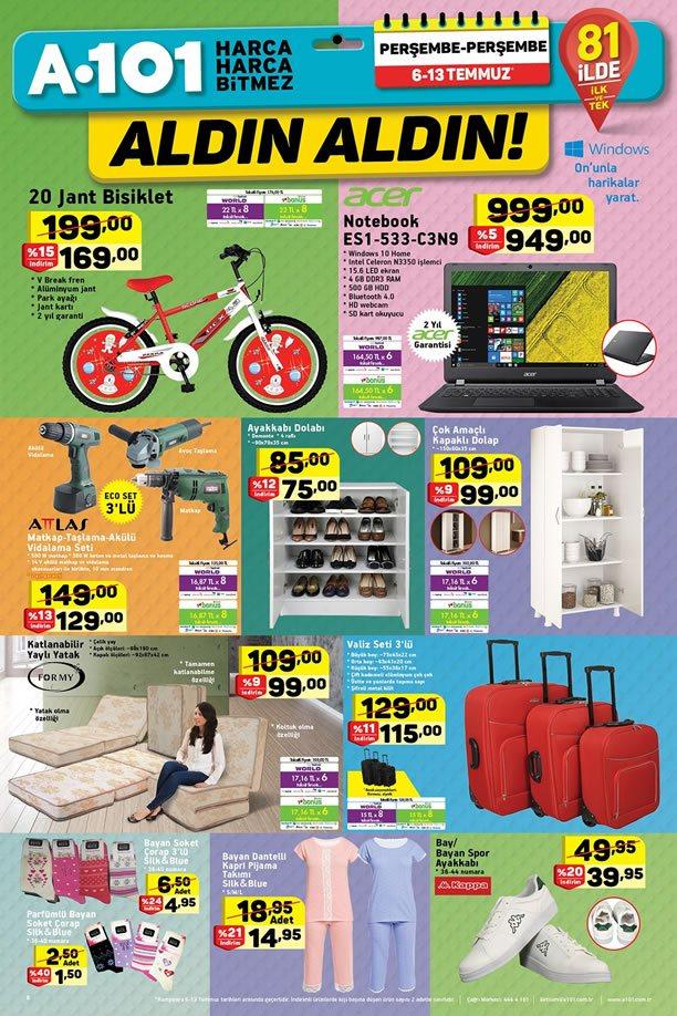 A101 6 - 13 Temmuz 2017 - 20 Jant Bisiklet