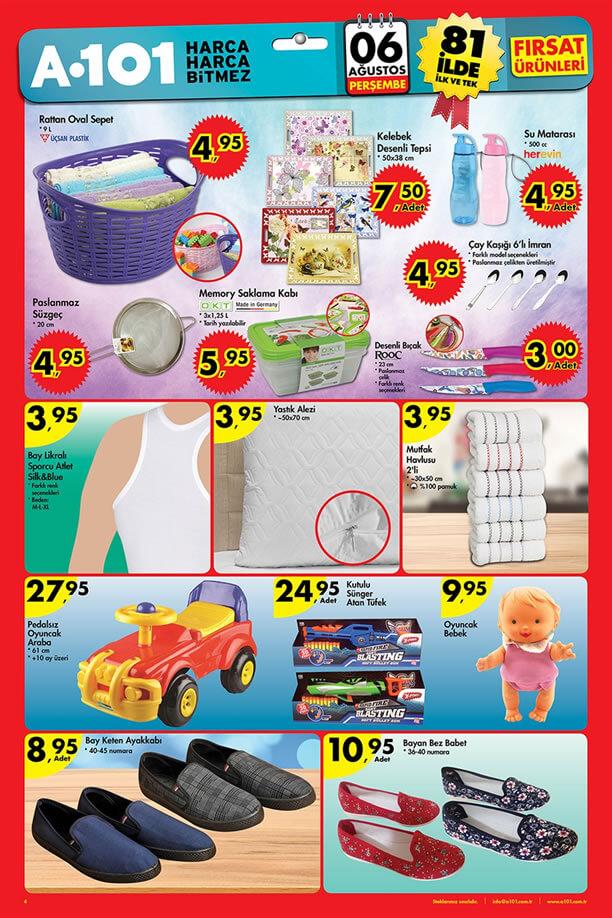 A101 6 Ağustos 2015 Aktüel Ürünler Katalogu - Saklama Kabı