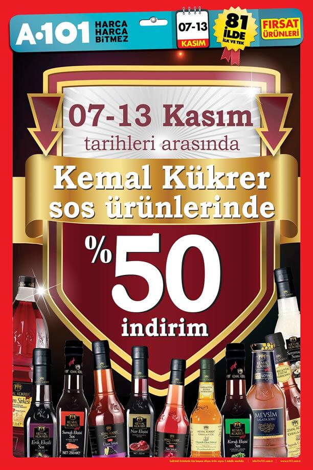 A101 7-13 Kasım 2016 Fırsat Ürünleri Katalogu - Kemal Kükrer