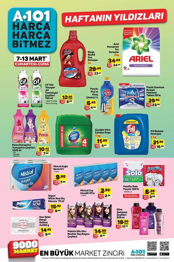 A101 7 Mart 2020 Aktüel Ürünler Kataloğu
