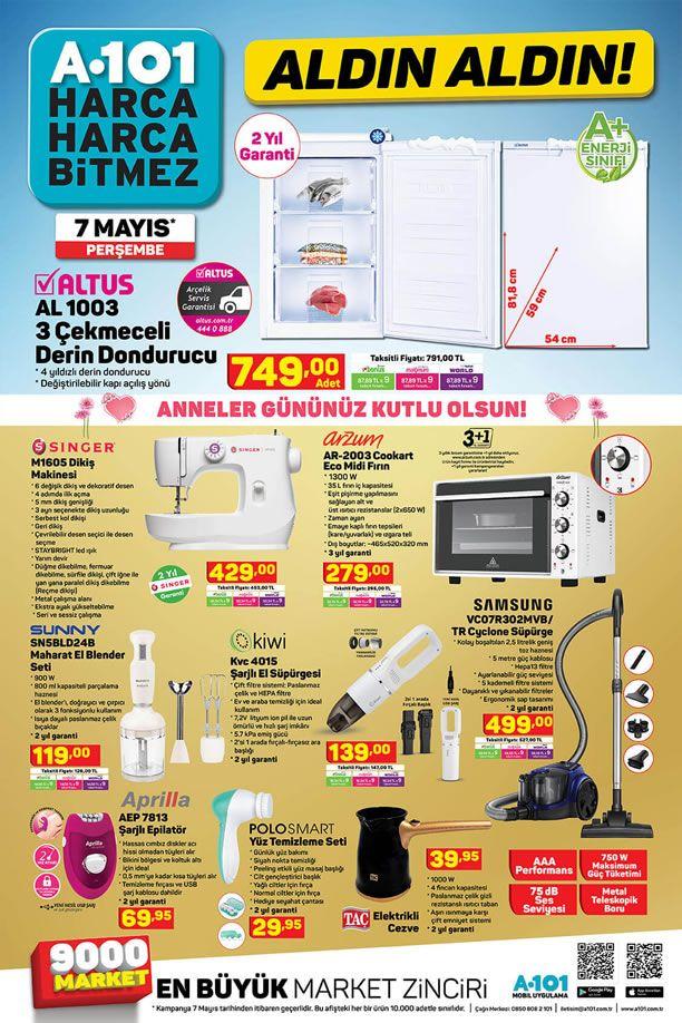 A101 7 Mayıs 2020 Aktüel Kataloğu - Taç Elektrikli Cezve