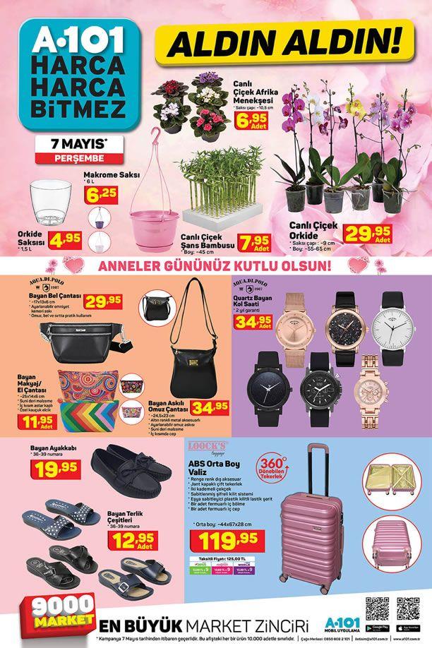 A101 7 Mayıs 2020 Perşembe Kampanyası - Anneler Günü Hediyeleri