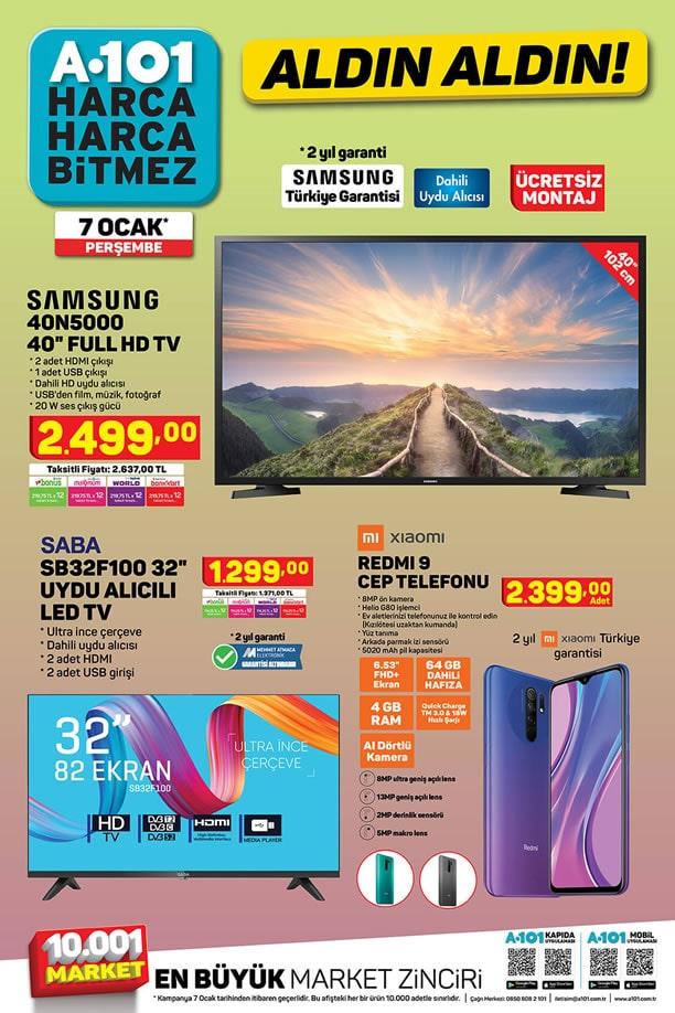 A101 7 Ocak 2021 Kataloğu - Xiaomi Redmi 9 Cep Telefonu