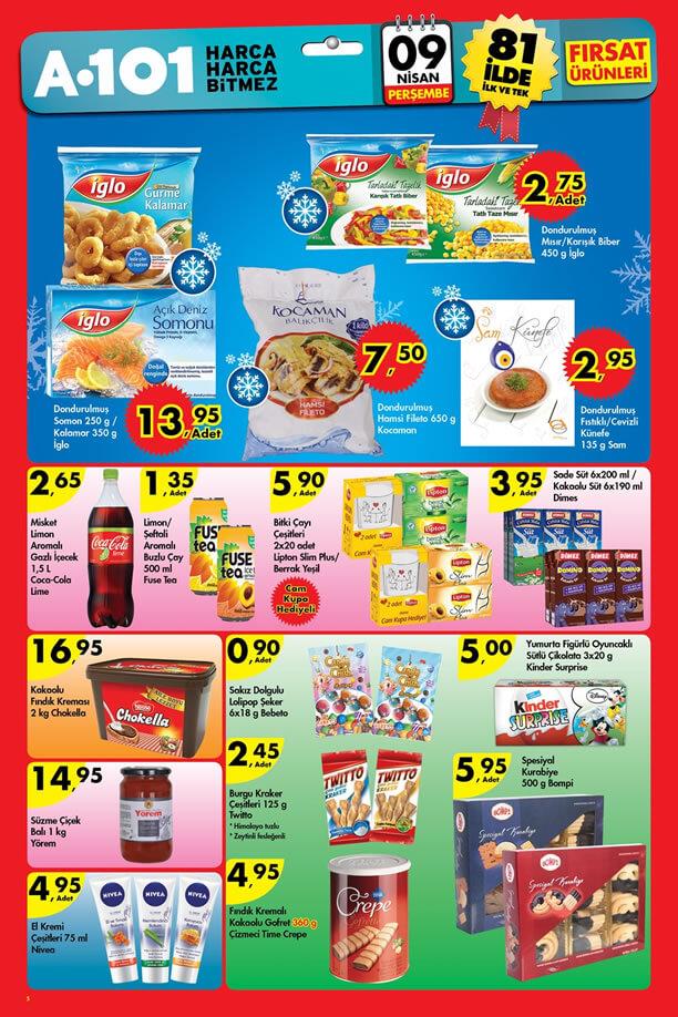 A101 9 Nisan 2015 Aktüel Ürünler Kataloğu - İglo