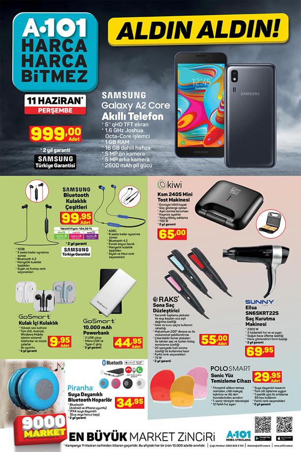 A101 Aktüel 11 Haziran 2020 - Samsung Galaxy A2 Core Akıllı Cep Telefonu