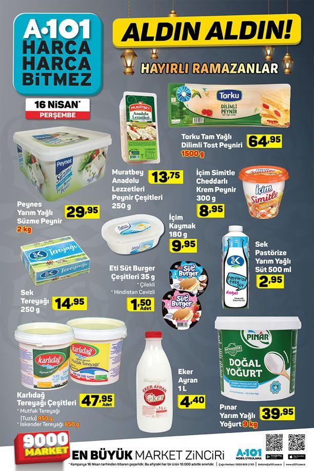 A101 Aktüel 16 Nisan 2020 İndirimli Ürünler Kataloğu