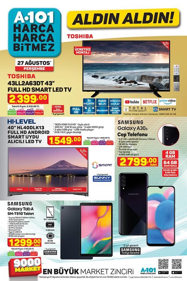 A101 Aktüel 27 Ağustos 2020 - Samsung Galaxy A30 Cep Telefonu