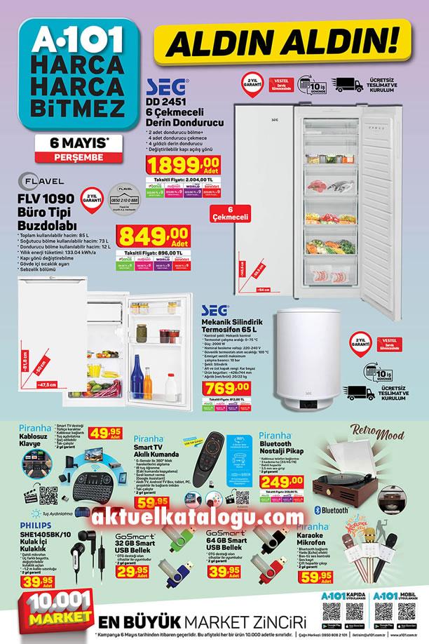 A101 Aktüel 6 Mayıs 2021 Kataloğu - Flavel Büro Tipi Buzdolabı