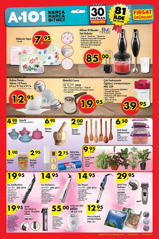 A101 Aktüel Ürünler 30 Haziran 2016 Katalogu - Braun Silk Epil