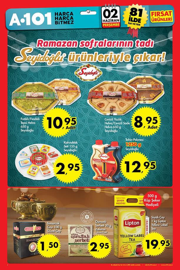A101 Fırsat Ürünleri 2 Haziran 2016 Katalogu - Seyidoğlu