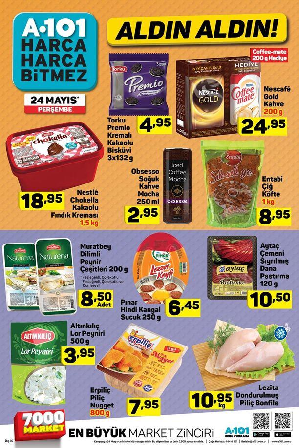 A101 İndirimleri 24 Mayıs Katalogu - Nestle Chokella