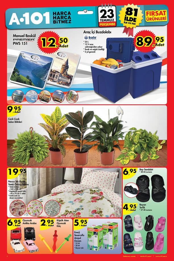 A101 Katalogu 23 Temmuz 2015 Aktüel Ürünler - Araç İçi Buzdolabı