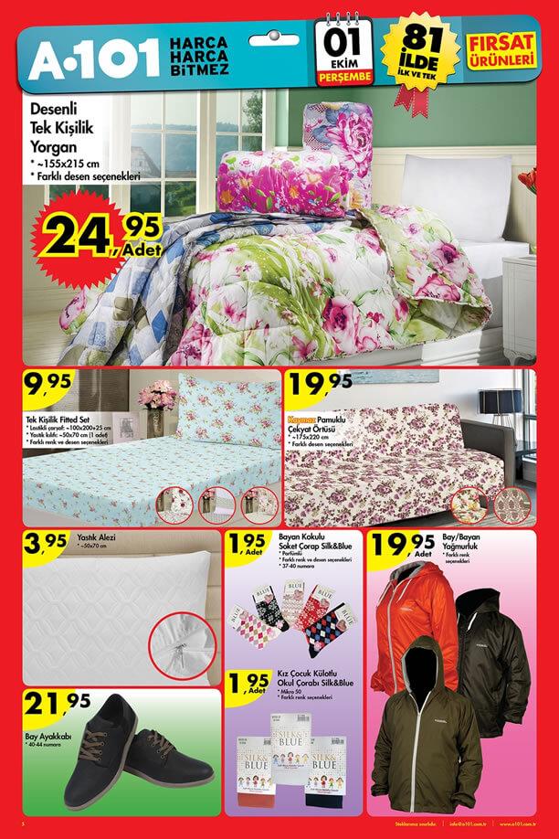 A101 Market 1 Ekim 2015 Fırsat Ürünleri Katalogu - Yağmurluk