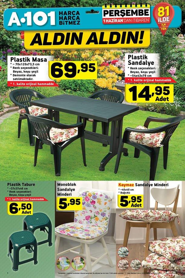 A101 Market 1 Haziran 2017 Katalogu - Plastik Masa