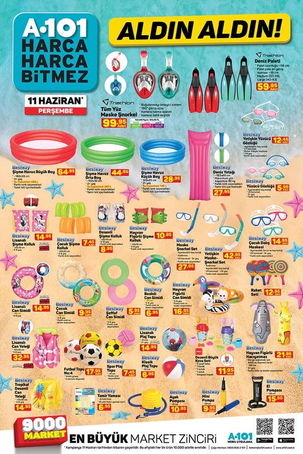 A101 Market 11 Haziran 2020 Kataloğu - Deniz Ürünleri Kataloğu