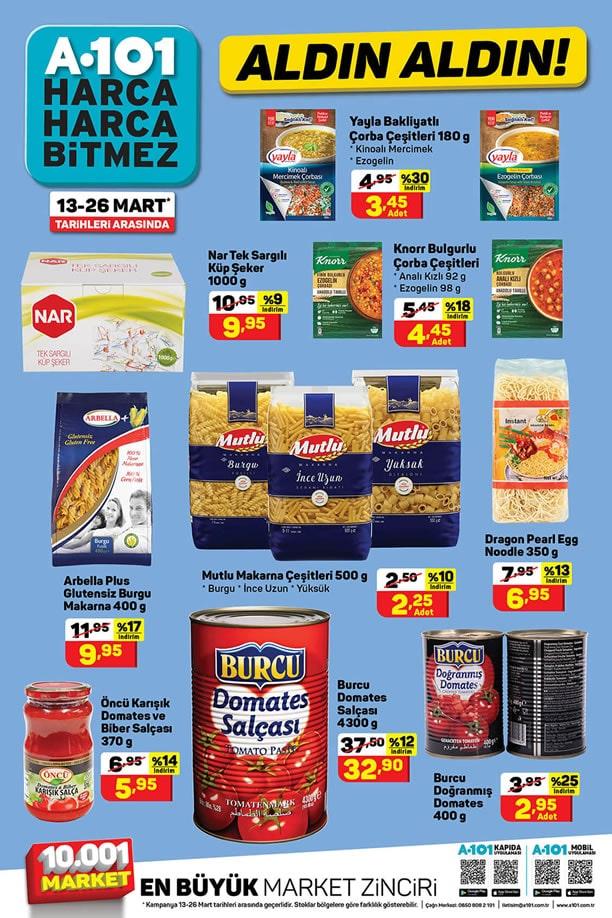 A101 Market 13 - 26 Mart 2021 Aldın Aldın Kataloğu