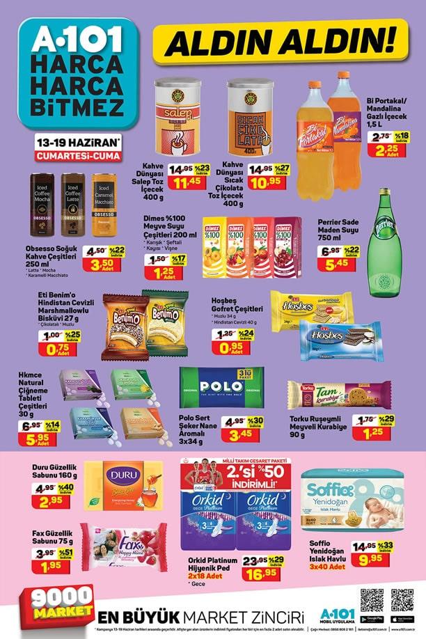 A101 Market 13 Haziran 2020 Aldın Aldın Kataloğu