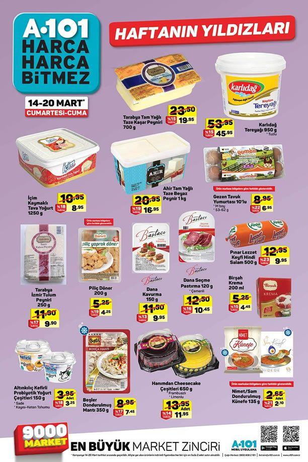 A101 Market 14 Mart 2020 Haftanın Yıldızları Kataloğu