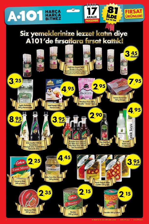 A101 Market 17-23 Aralık 2015 Fırsatları - Havancızade