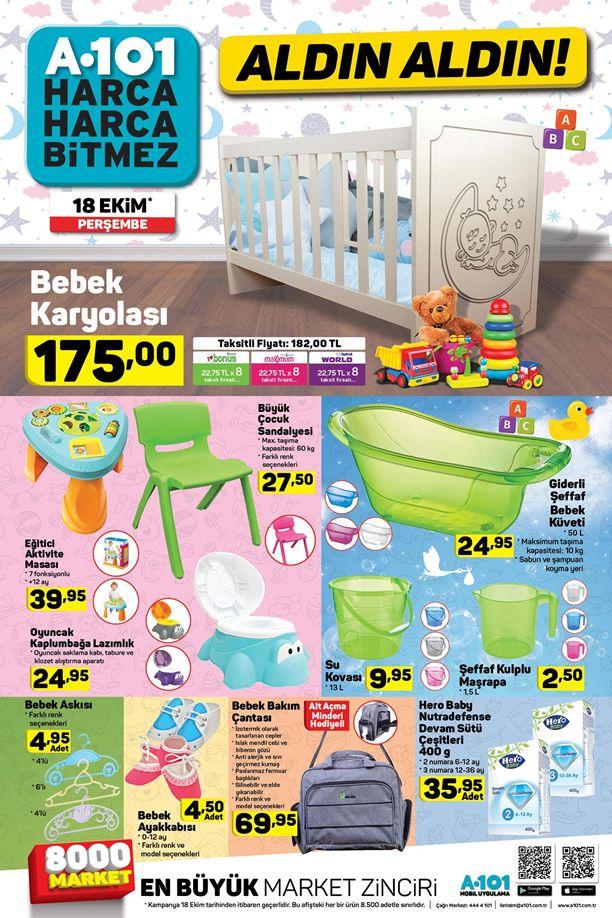 A101 Market 18 Ekim 2018 Fırsatları - Bebek Karyolası