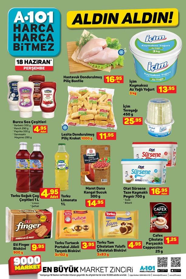 A101 Market 18 Haziran 2020 Fırsat Ürünleri Kataloğu