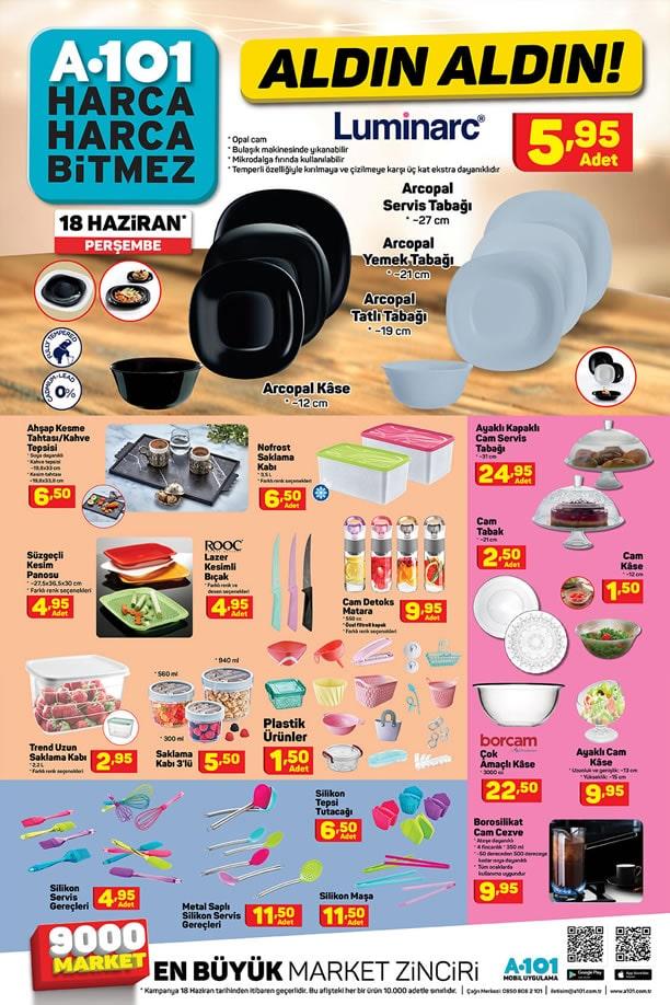 A101 Market 18 Haziran 2020 Kataloğu - Mutfak Araç Gereçleri