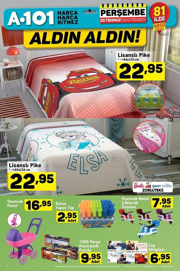 A101 Market 20 Temmuz 2017 - Lisanslı Pike