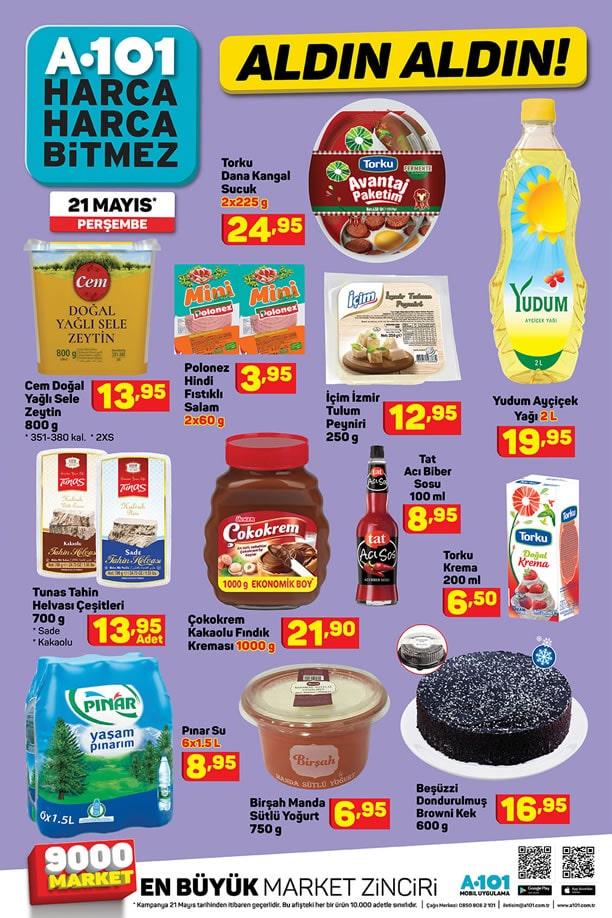 A101 Market 21 Mayıs 2020 Fırsat Ürünleri Kataloğu