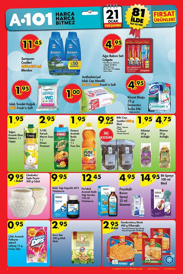 A101 Market 21 Ocak 2016 Katalogu - Blendax Şampuan