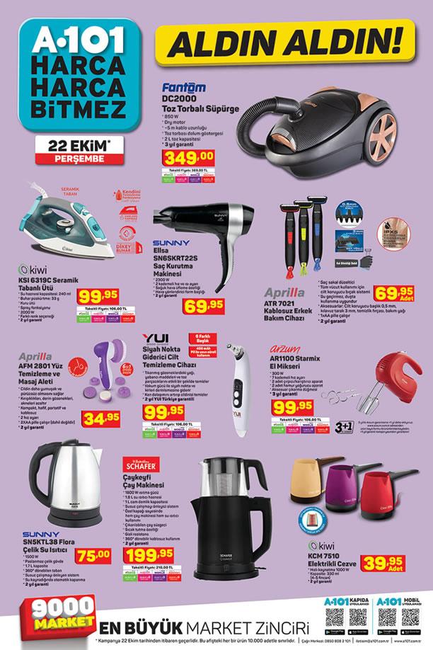 A101 Market 22 Ekim 2020 Kataloğu - Schafer Çaykeyfi Çay Makinesi