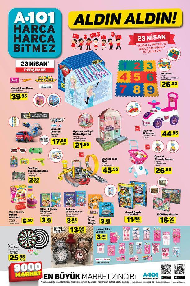 A101 Market 23 Nisan 2020 Aktüel Ürünler Kataloğu