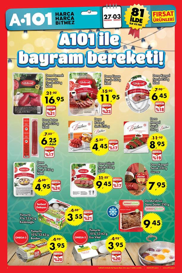 A101 Market 27 Haziran - 3 Temmuz 2016 Katalogu