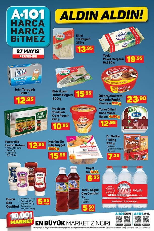 A101 Market 27 Mayıs 2021 Fırsat Ürünleri Kataloğu