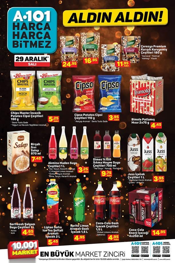 A101 Market 29 Aralık 2020 Yılbaşı Kataloğu