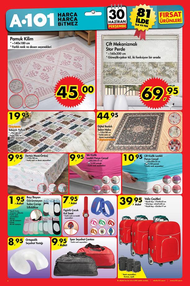 A101 Market 30 Haziran 2016 Katalogu - Çift Mekanizmalı Stor Perde