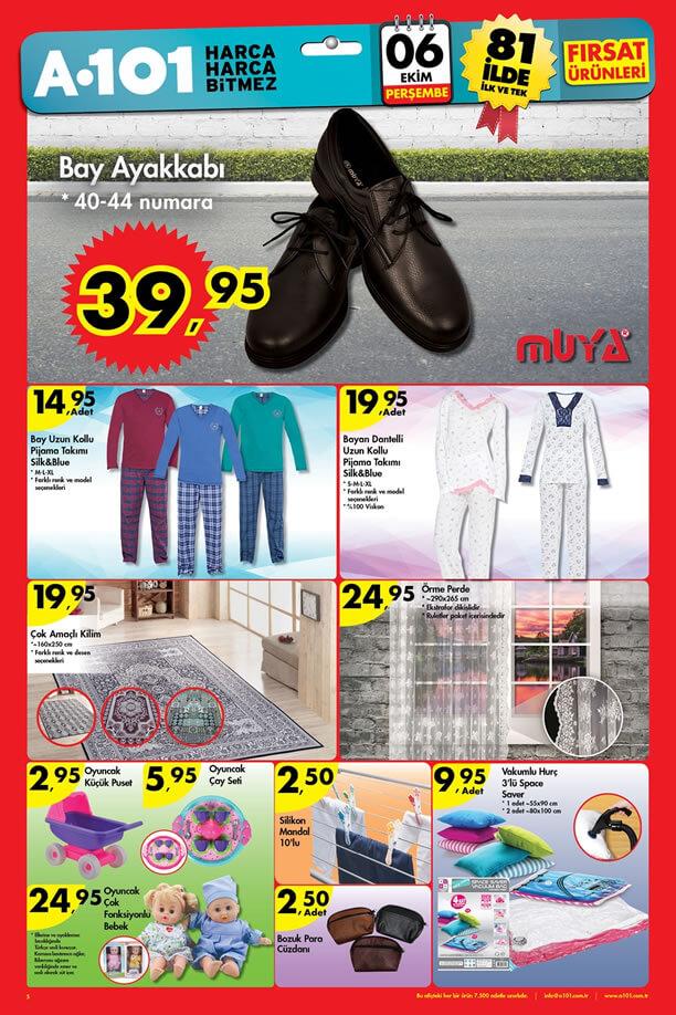 A101 Market 6-12 Ekim 2016 Katalogu - Örme Perde