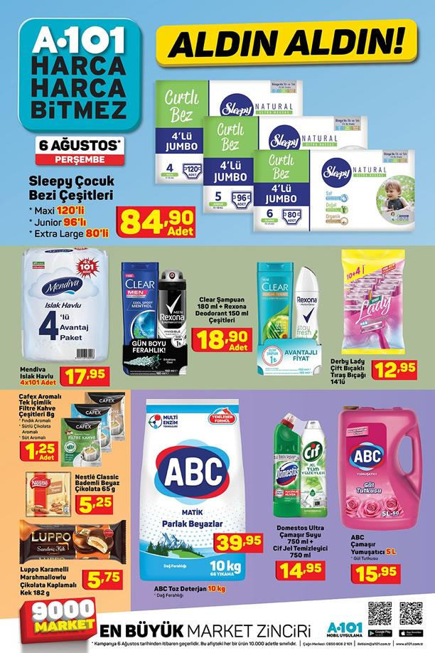 A101 Market 6 Ağustos 2020 Fırsat Ürünleri Kataloğu