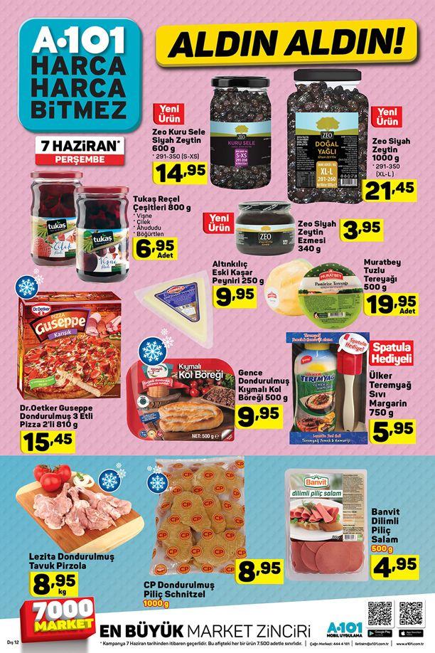 A101 Market 7 Haziran 2018 Aktüel Ürün Katalogu